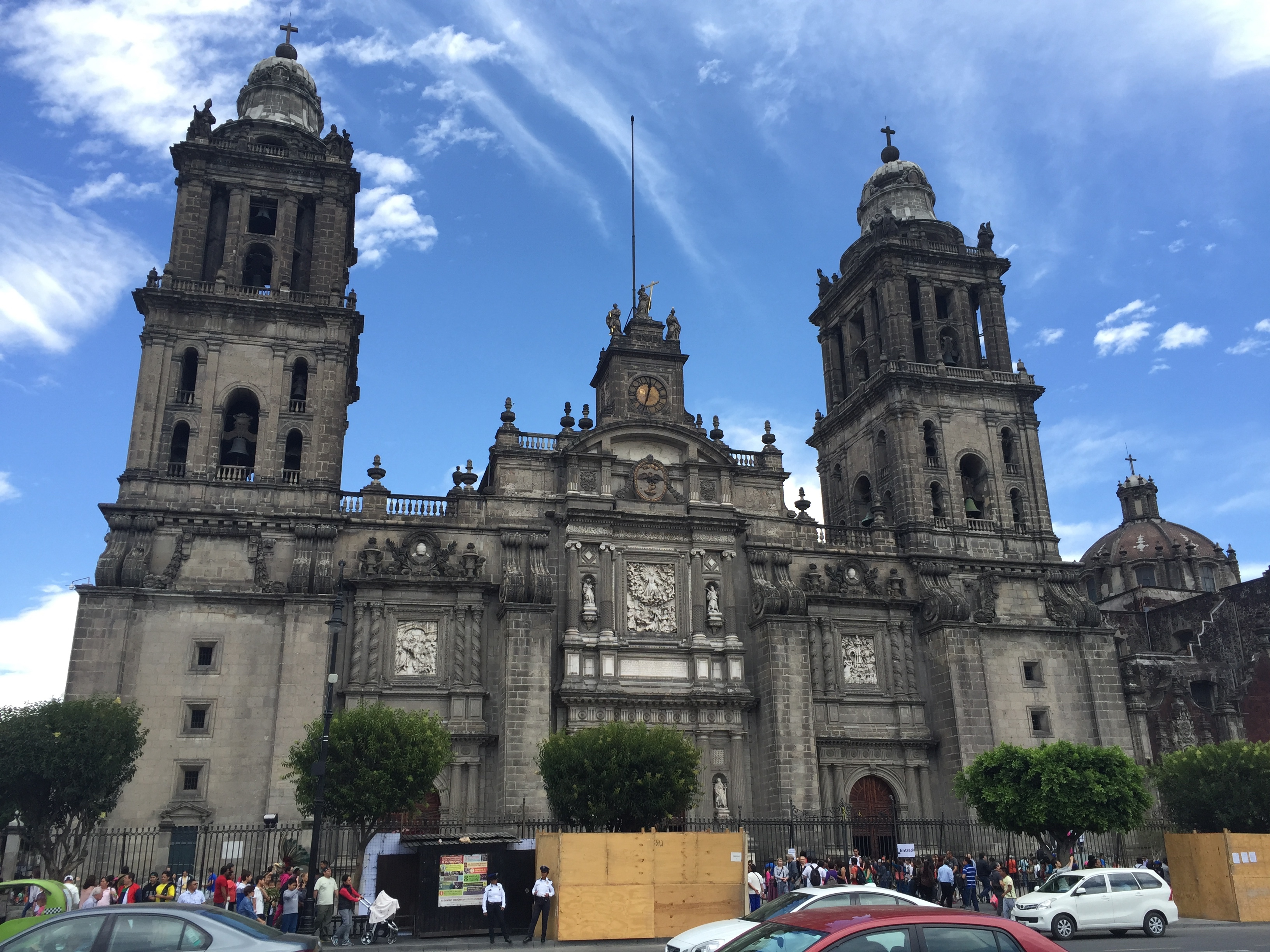 Cathedral Metropolitana in Mexico City.