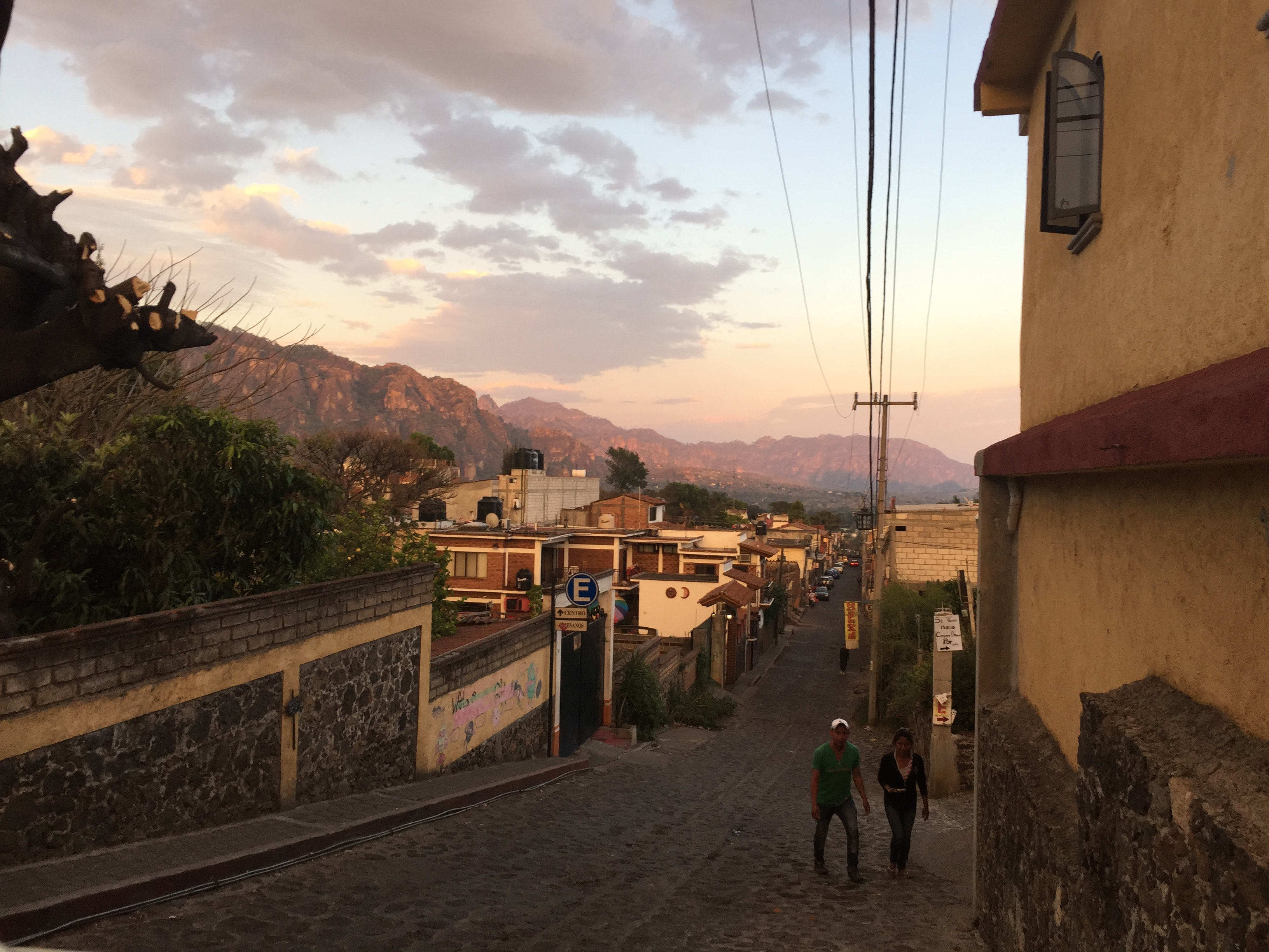 Sunset in Tepoztlan.