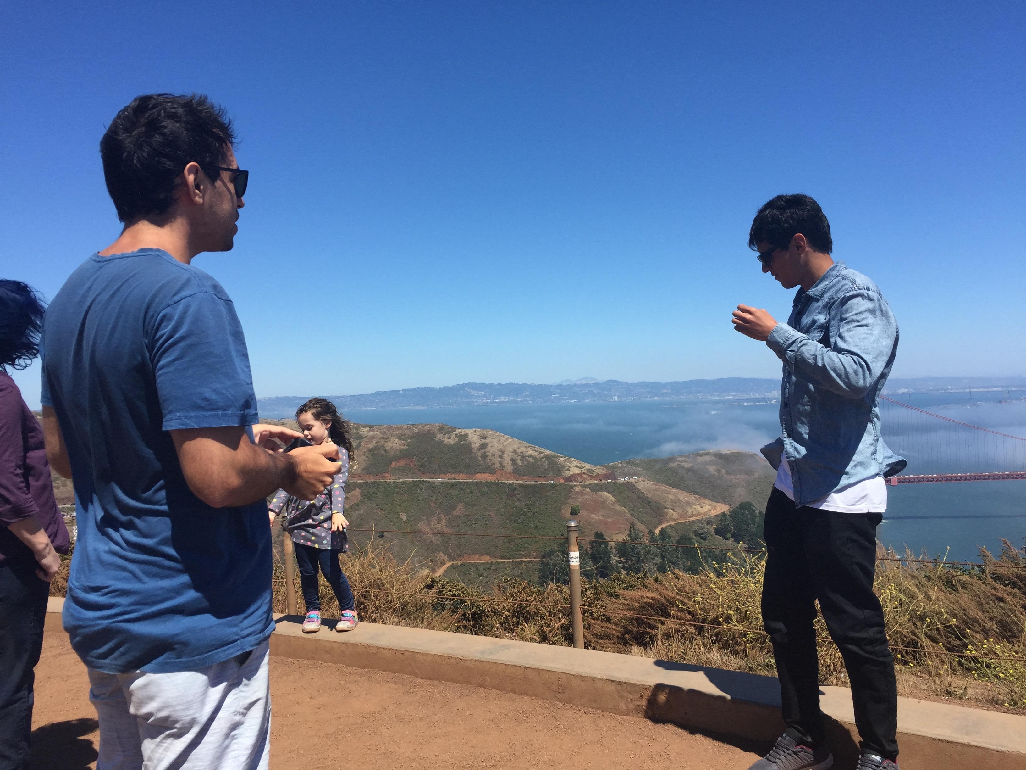 Golden Gate bridge San Francisco.