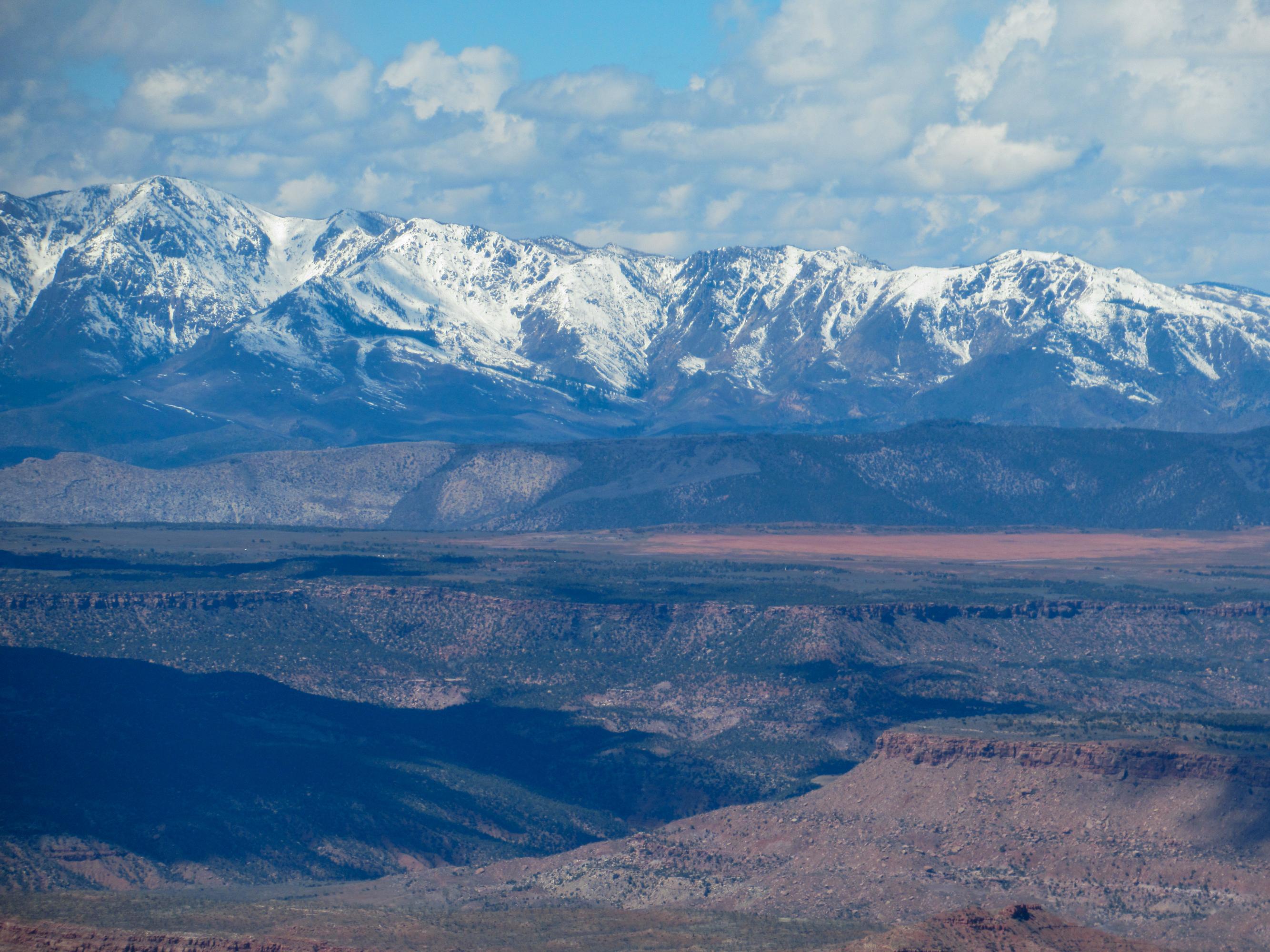 Pine Valley Mountain Range in Utah.