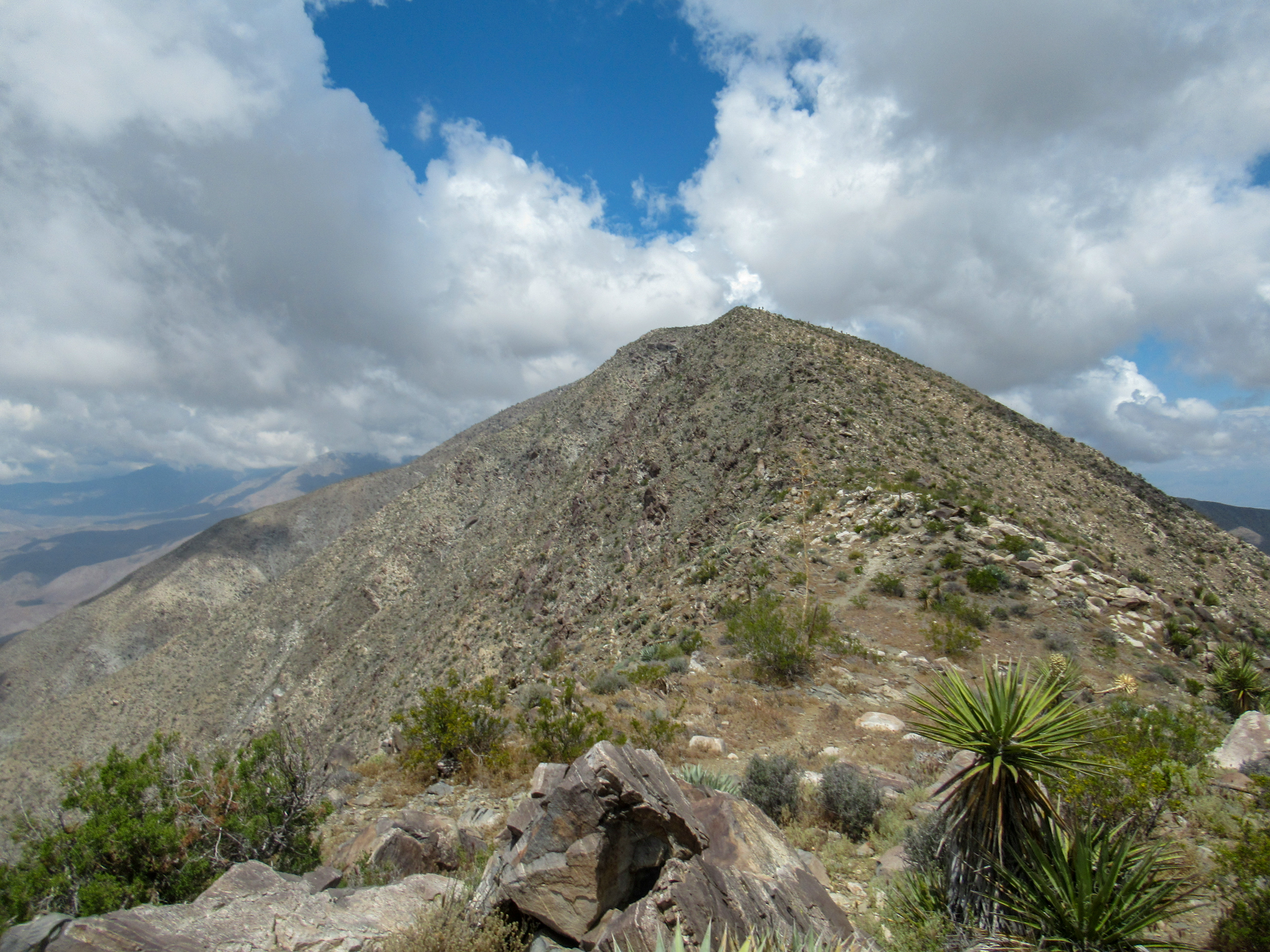 Villager Peak in Anza Borrego.