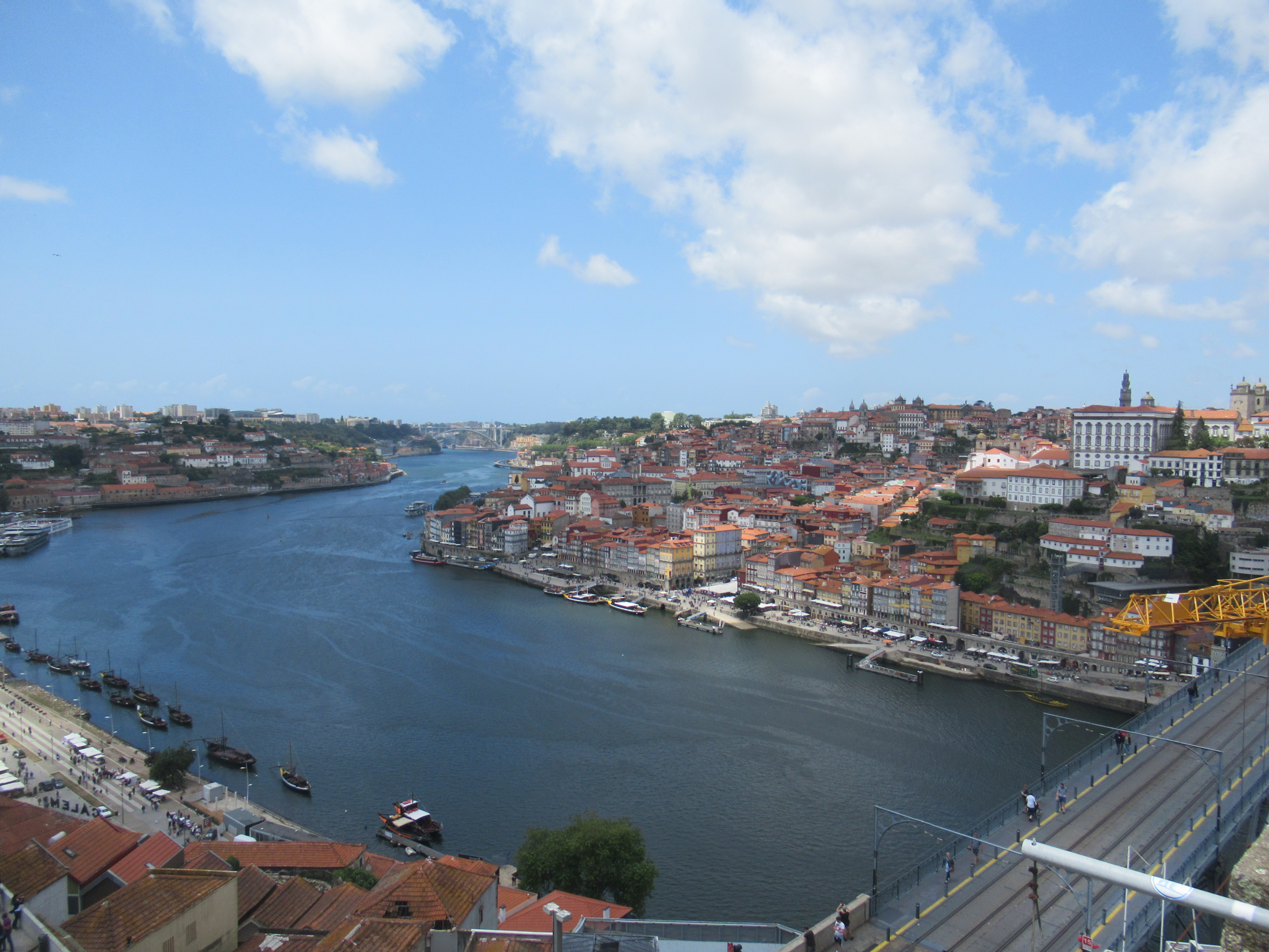 The Douro River of Porto, Portugal.