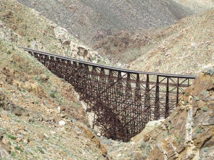 Goat Canyon Trestle Carrizo Gorge.