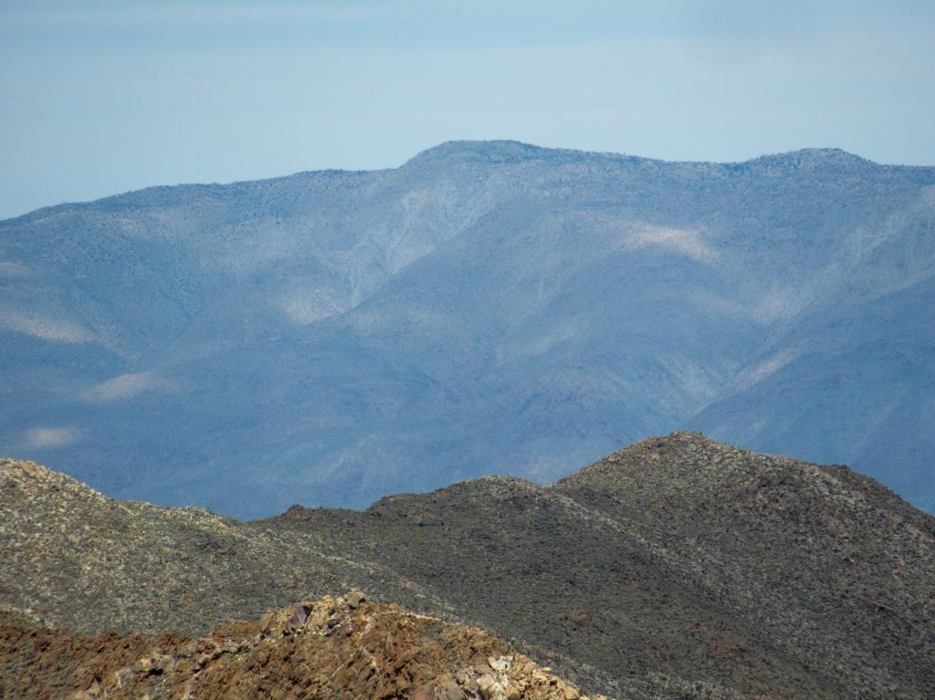 Whale Peak Anza Borrego.