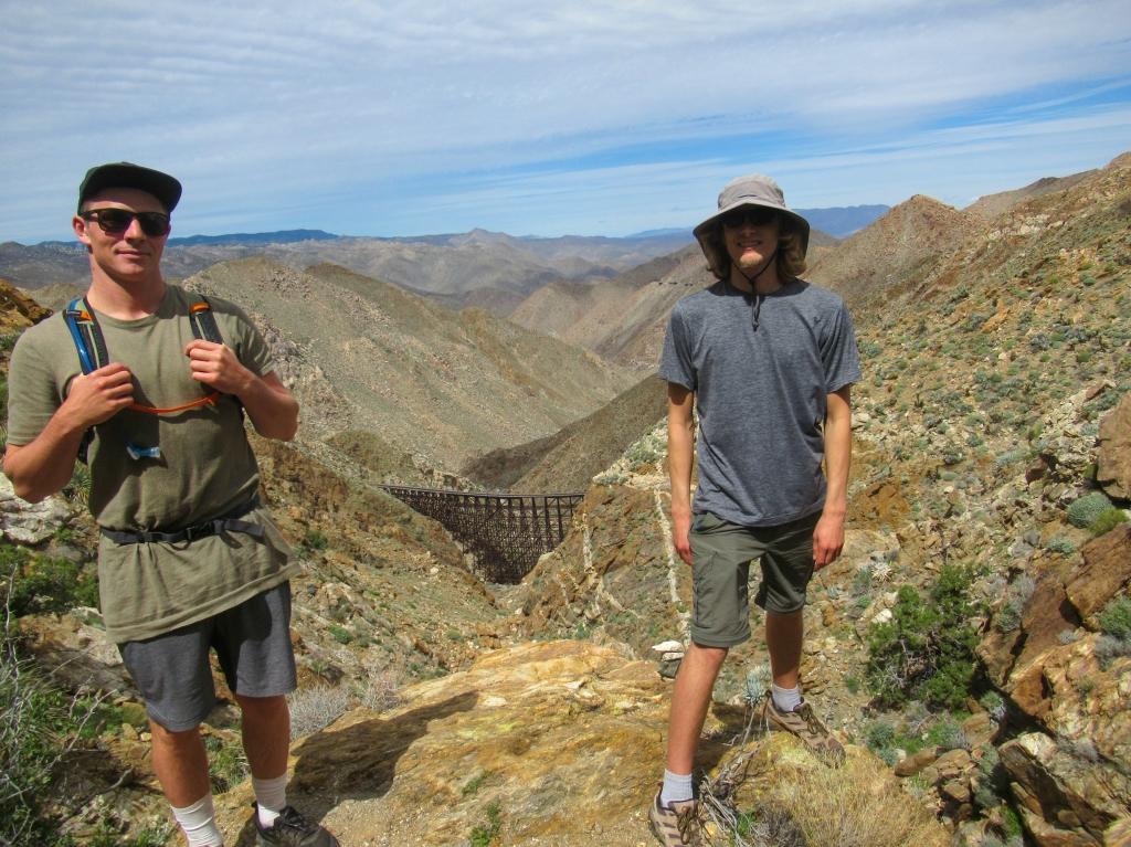 Goat Canyon Trestle in Carrizo Gorge.