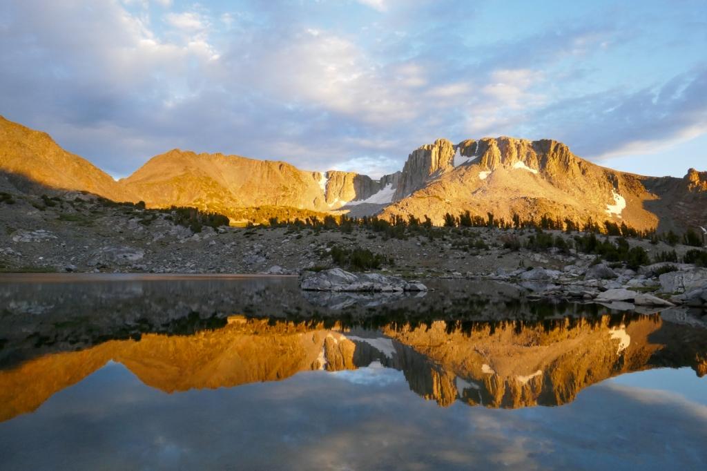 Deer Lakes sunset, Mammoth.