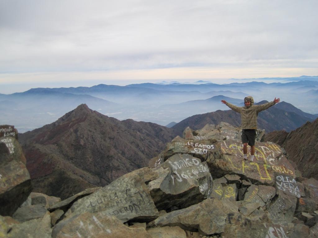 Summit of Cerro La Campana, Chile.