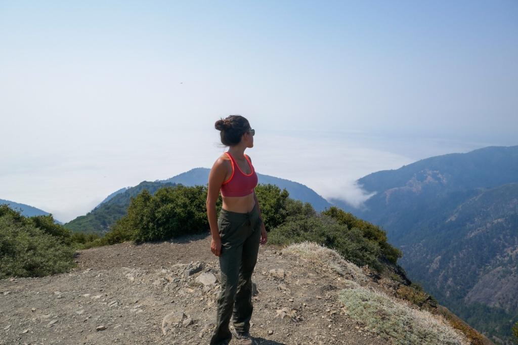 Madison Snively summits King Peak.