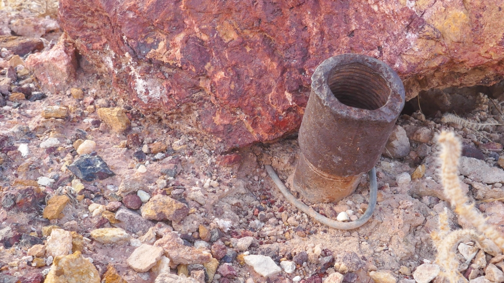A mining device found in the Fish Creek Mountains.