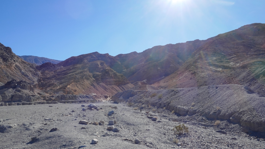 The mouth of Mosaic Canyon in Death Valley National Park.